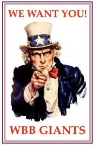 We want you...